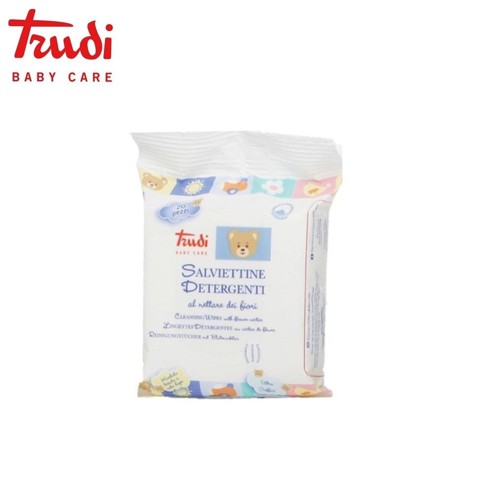 Trudi Baby Care 義大利 寶貝純蜜濕紙巾20抽x10入