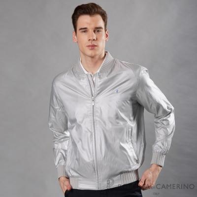 ROBERTA諾貝達 都市休閒 百搭夾克外套 銀灰