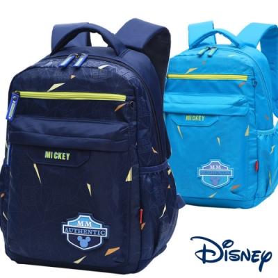 【優貝選】迪士尼小歐爸帥氣素面米奇輕量小學生書包後背包 1-3年級適用