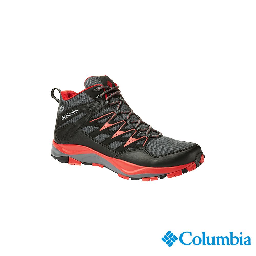 Columbia 哥倫比亞男款-OD防水高筒健走鞋-黑色UBM19000BK