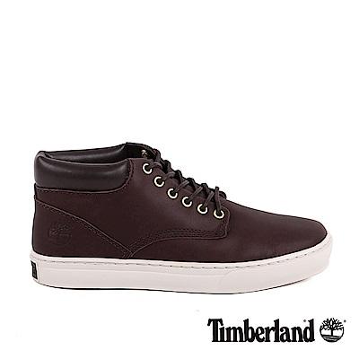 Timberland 男款深咖啡色粒面Adventure 2.0休閒鞋