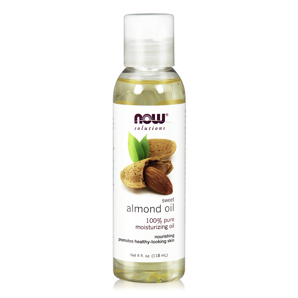 NOW Sweet Almond Oil甜杏仁油(4 oz / 118 ml)
