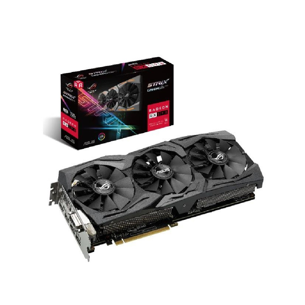 華碩 ASUS ROG Strix Radeon RX 590 8GB GAMING 顯示卡