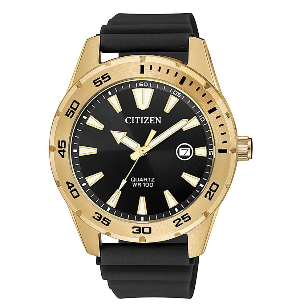 CITIZEN星辰 運動時尚百米防水橡膠手錶(BI1043-01E) @ Y!購物