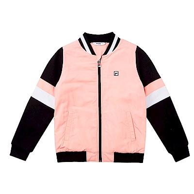 FILA KIDS 童 鋪薄棉外套-粉紅 1JKS-8410-PK