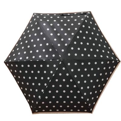 城市雨CTRain=口袋五折晴雨傘 (黑點點)