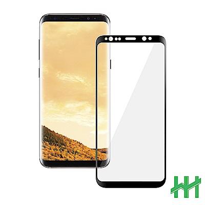 鋼化玻璃保護貼系列 Samsung Galaxy S8 (5.8吋)(滿版3D曲面黑)