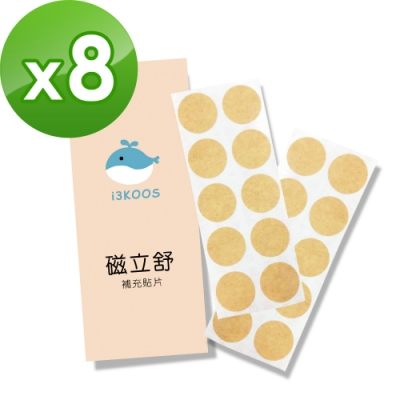 i3KOOS-MIT磁立舒-補充貼片8包(20枚/包)