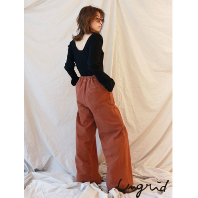 Ungrid 休閒直筒寬褲(2色)
