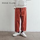【MOSS CLUB】MIT台灣製造 條絨休閒-長褲(四色)