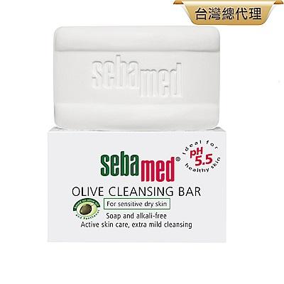 sebamed施巴橄欖潔膚皂150g