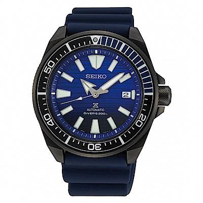 SEIKO 精工Prospex 機械深海潛水錶-藍4R35-01X0A/SRPD09