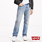 Levis 男款 501 排扣直筒牛仔長褲 / 硬挺厚磅