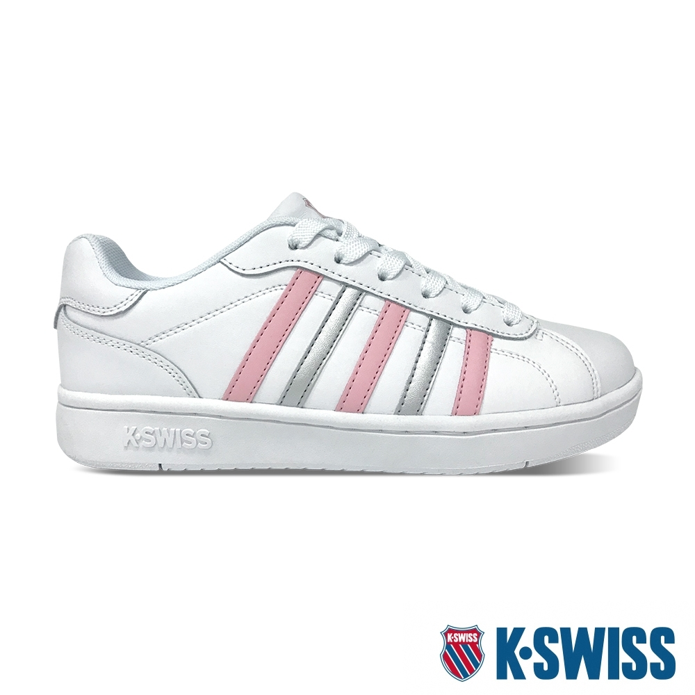 K-SWISS Montara時尚運動鞋-女-白/粉紅/銀