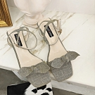 KEITH-WILL時尚鞋館 (現貨+預購) 最潮魅力佳人粗跟鞋-灰