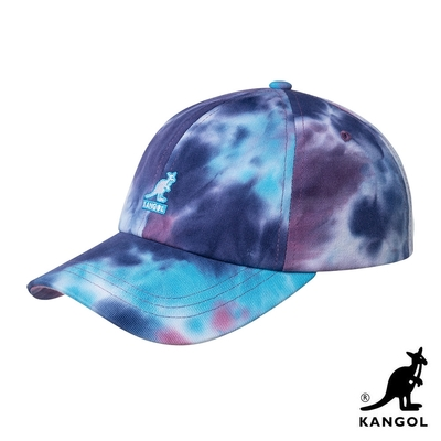 KANGOL-TIE DYE 棒球帽-彩色