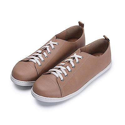 BuyGlasses 簡約風小文青休閒鞋-棕