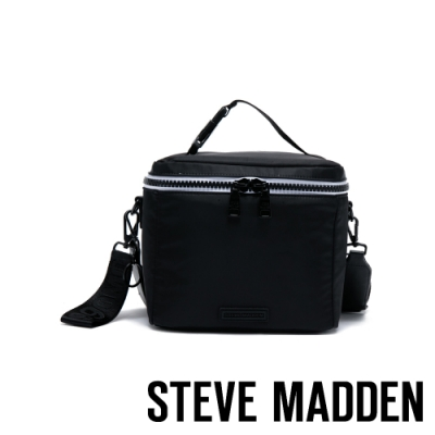 STEVE MADDEN-BLUNCH 手提肩背多功能保溫野餐包-黑色