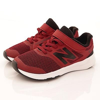 零碼-19cm NewBalance童鞋 針織運動鞋款 PREMRY紅
