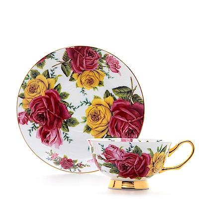 Royal Duke 骨瓷咖啡對杯-夢香(玫瑰)