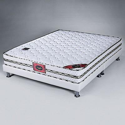 Homelike 柯堤二線天絲棉獨立筒床墊-雙人加大6尺-182x188x22cm