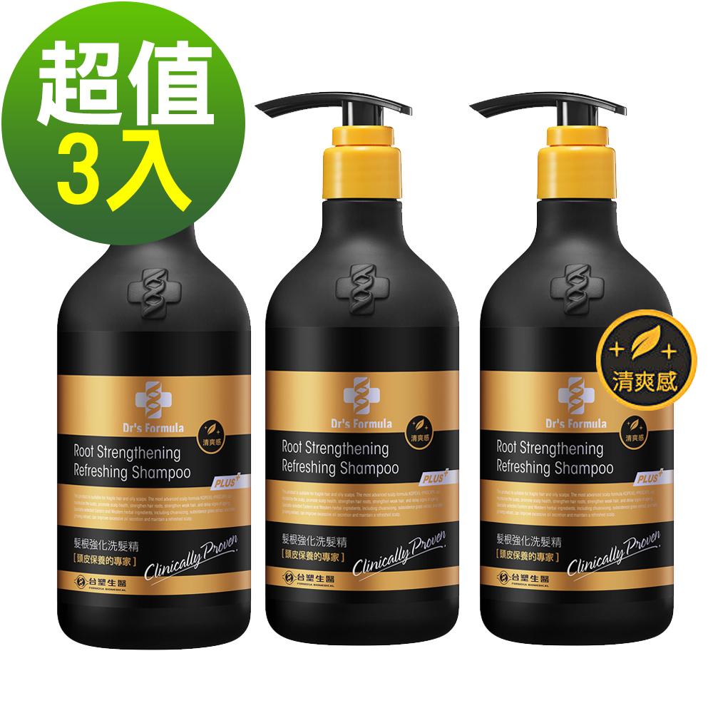 台塑生醫Dr's Formula洗髮580g*3瓶