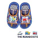 (雙11)THE RUNABOUTS 輕量休閒拖鞋童鞋-藍