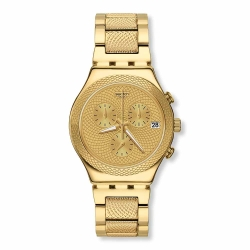 Swatch 金屬系列 GOLDY FULL 金屬-滿天金星 -40mm