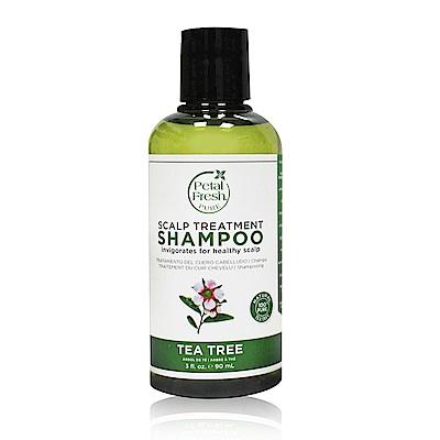 美國沛特斯 有機成份茶樹控油洗髮精(90ml/3oz)