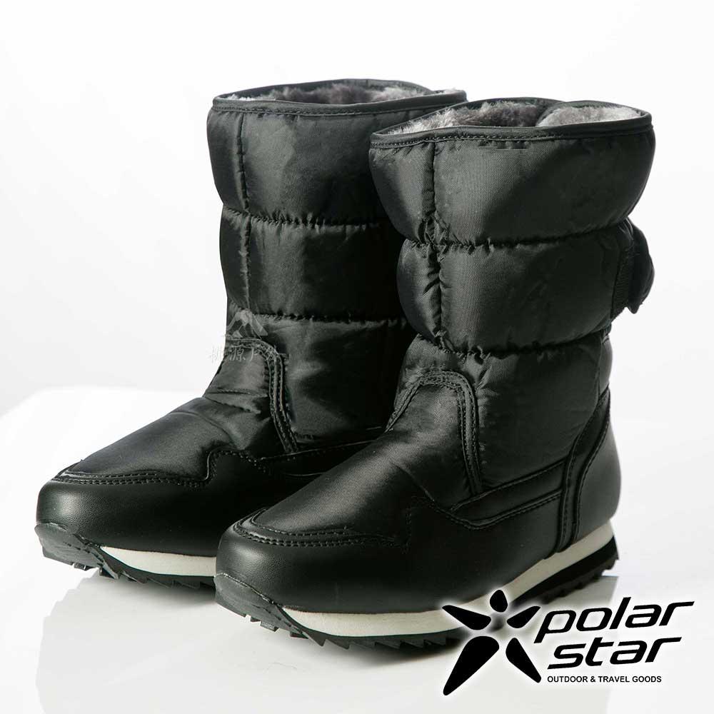 PolarStar 女 防潑水 保暖雪鞋│雪靴『黑』P13621