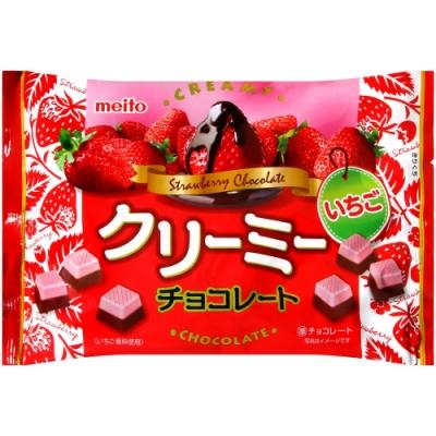 名糖 滑順草莓代可可脂巧克力(150g)