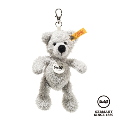 STEIFF德國金耳釦泰迪熊 Keyring Fynn Teddy Bear (經典吊飾)