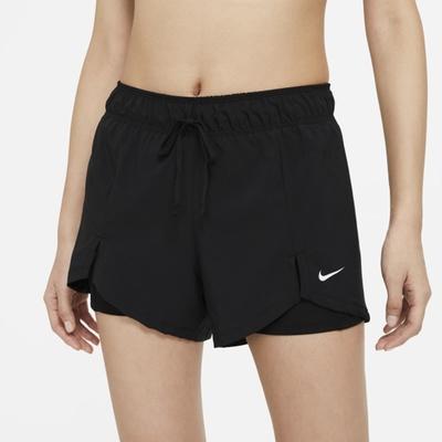 Nike Flex Essential 2-in-1 女短褲-黑-DA0454011