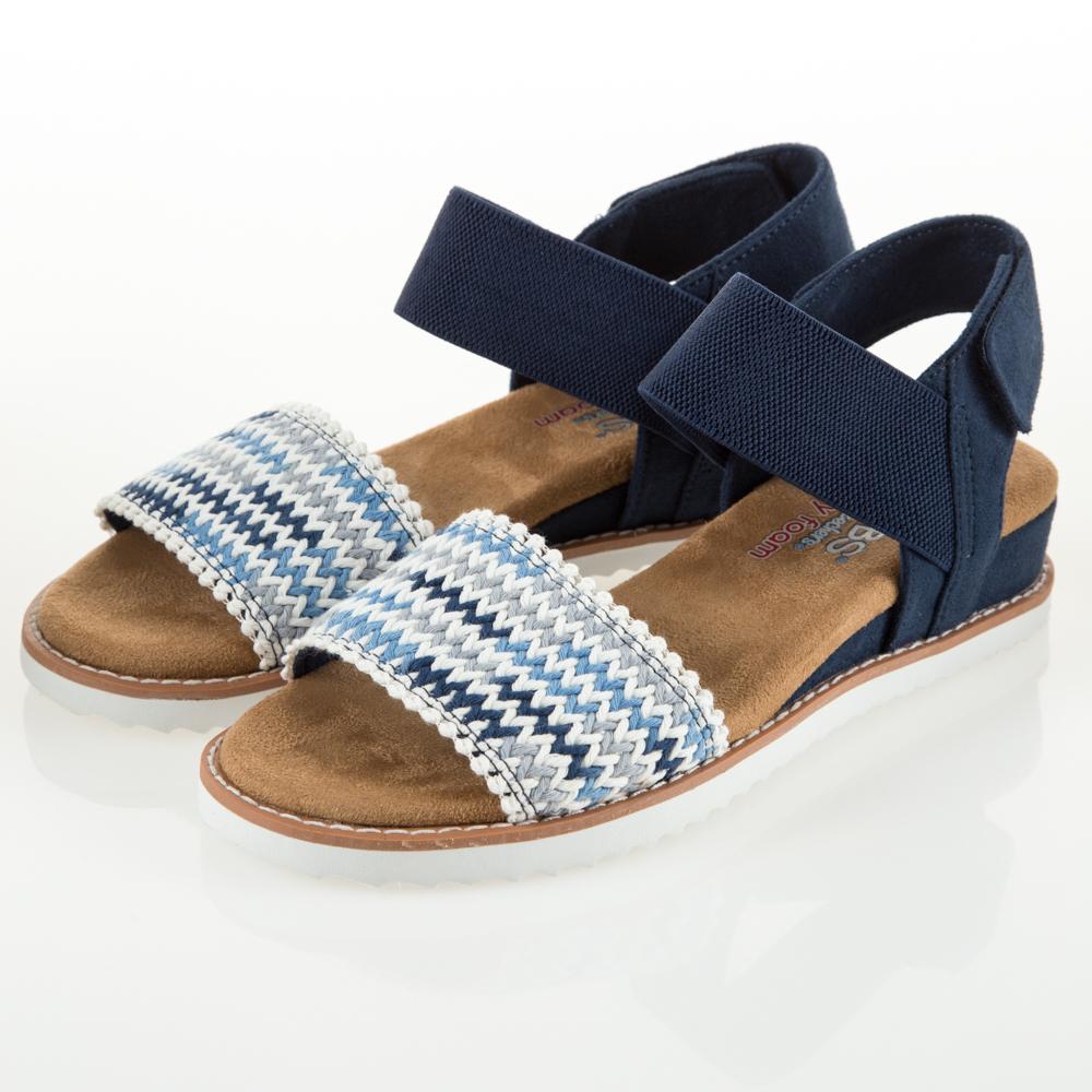SKECHERS 女 休閒系列涼拖鞋BOBS DESERT-32867NVMT