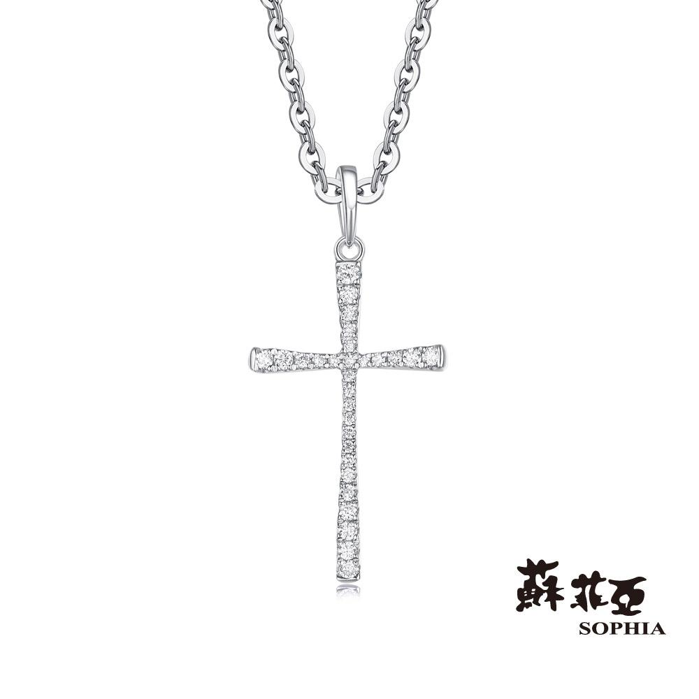 蘇菲亞SOPHIA 鑽鍊 - MY FAITH系列純淨聖靈鑽石項鍊