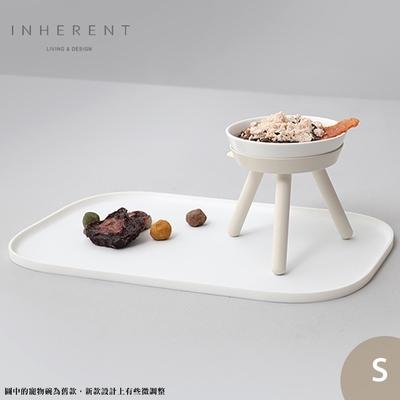韓國Inherent Oreo 寵物高腳碗 寵物碗 寵物碗架 狗碗 S 純淨白