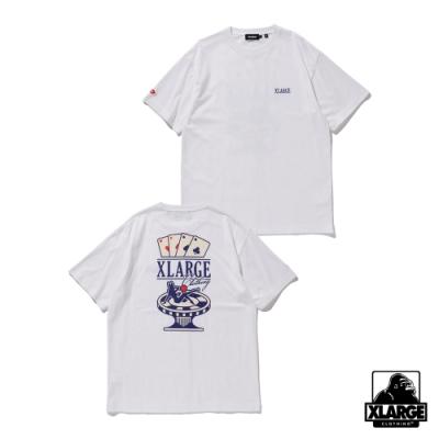 XLARGE S/S TEE CASINO 賭場短T-白