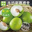 買2送2【天天果園】燕巢區牛奶蜜棗 共4斤