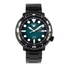SEIKO精工 小鮪魚精工5號罐頭機械自動上鍊男腕錶-黑x42mm(SRPC65K1)