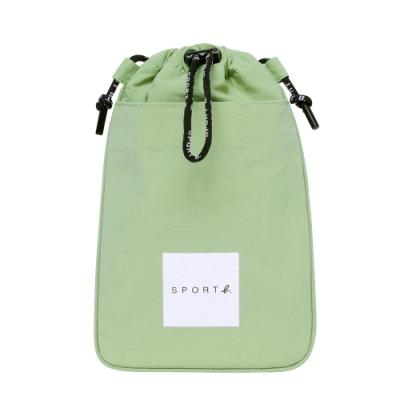 Agnes b. - Sport b. 束口斜背小包(中性)(綠)
