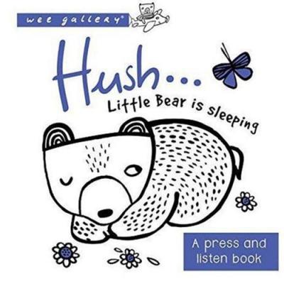 Hush! Little Bear Is Sleeping 噓!小熊正在睡覺 硬頁音效書
