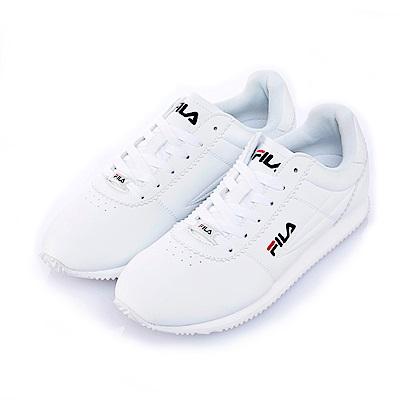 FILA 中性款慢跑鞋-白 4-J903S-113