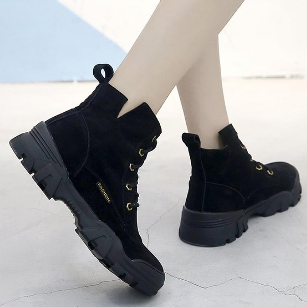 LN 輕量反絨休閒馬丁靴-3色