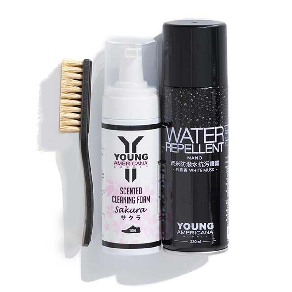 Y.A.S 洗護雙嬌 防水噴霧+洗鞋慕絲