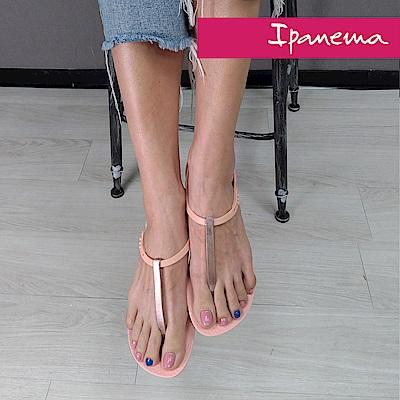 IPANEMA 典雅奢華人字涼鞋-淡粉紅/粉紅色
