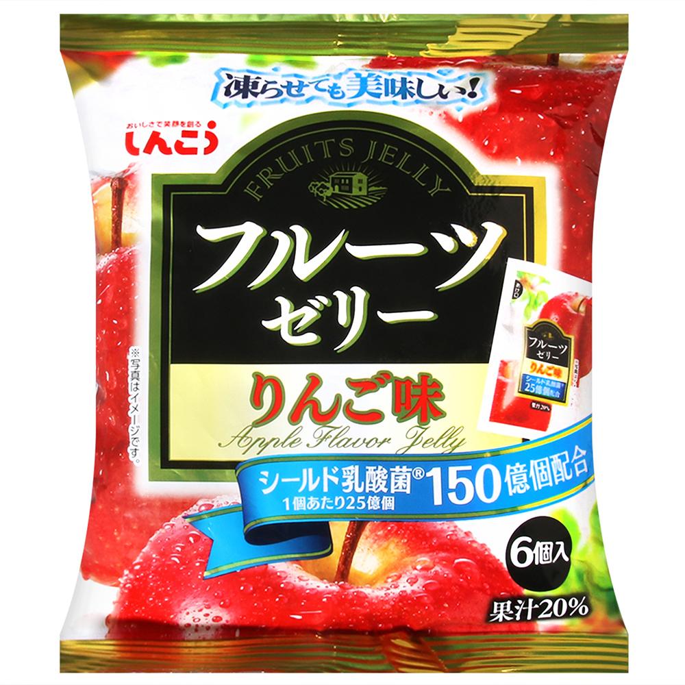 SHINKO 水果果凍-蘋果風味(120g)