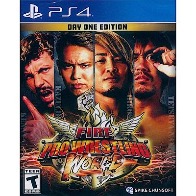 熱血摔角世界 Fire Pro Wrestling World - PS4 英文美版