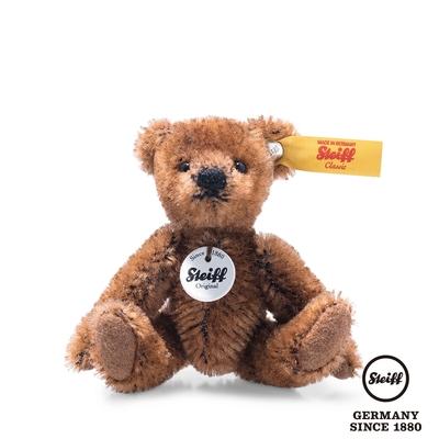 STEIFF德國金耳釦泰迪熊   Mini Teddy bear, brown 經典泰迪熊  (收藏版)
