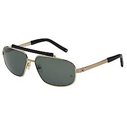 萬寶龍 MONTBLANC-太陽眼鏡(金色)MB455S