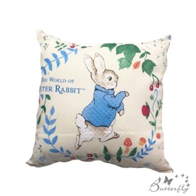 台製MIT-比得兔Peter Rabbit彼得兔經典系列抱枕-新跑兔